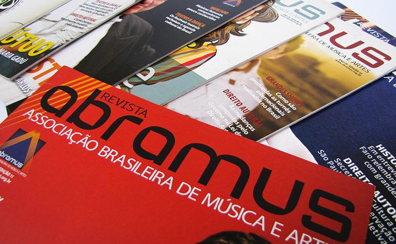 Desenvolvimento e produção de revista para a a ABRAMUS