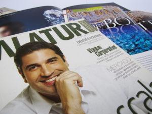 Desenvolvimento e produção de revista para Alatur