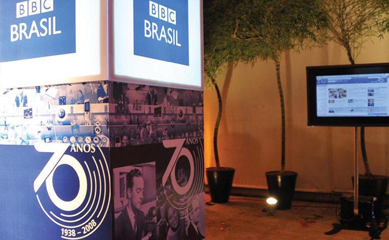 Produção de evento comemorativo de 70 anos da BBC Brasil