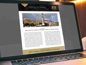 Desenvolvimento de Newsletter para a Bristol Hotéis