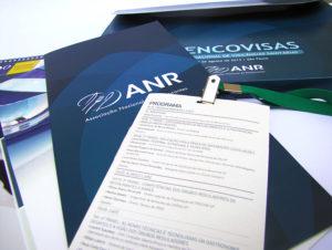 Desenvolvimento de materiais e produção do evento Encovisas - ANR