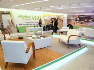 Desenvolvimento de materiais e produção de evento de lançamento do iRobot