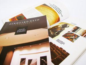 Desenvolvimento de Guia para o escritório Pinheiro Neto - Brasília